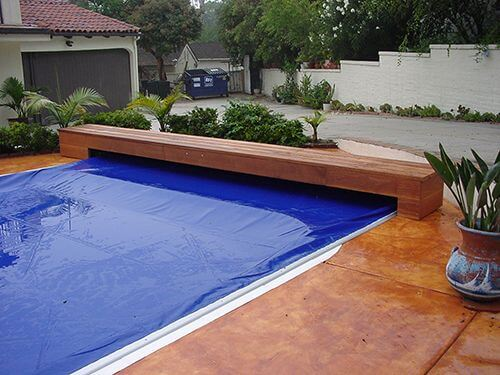 automatic pool cover solar covers