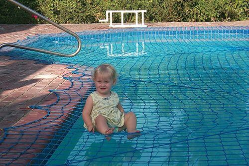 Pool Nets | Get a Safety Net for Your Swimming Pool by All-Safe