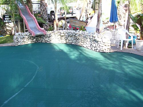 How safe and strong are leaf pool covers?