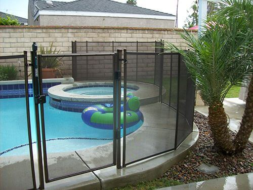 A pool fence can help prevent unsupervised access to your swimming pool.