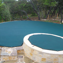 Leaf Covers keep cover your pool and reduce maintenance.