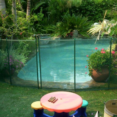 Ultra Pool Fence Green