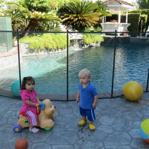 B-Poolsafe Lancaster, Palmdale, and Victorville areas Mesh Pool Fences